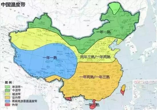 汇总:中国农业地图